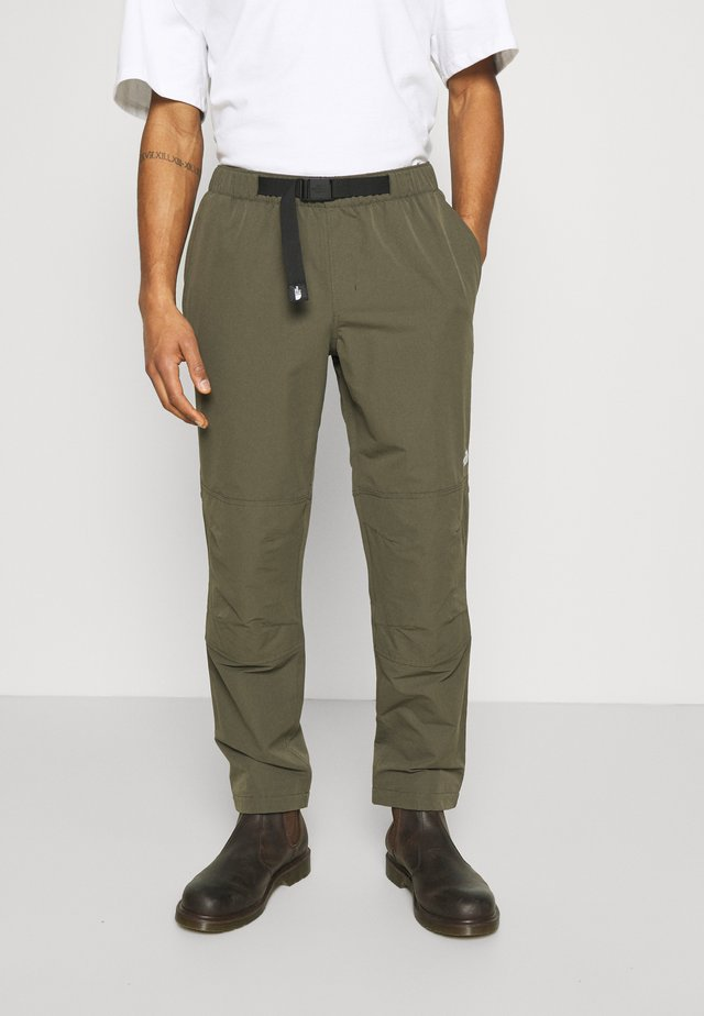 PULL ON PANT - Kalhoty - new taupe green