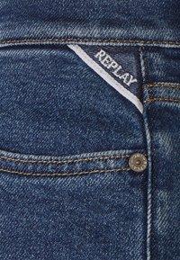 Replay - ROSE COLLECTION JULYE PANTS - Straight leg jeans - medium blue - 3