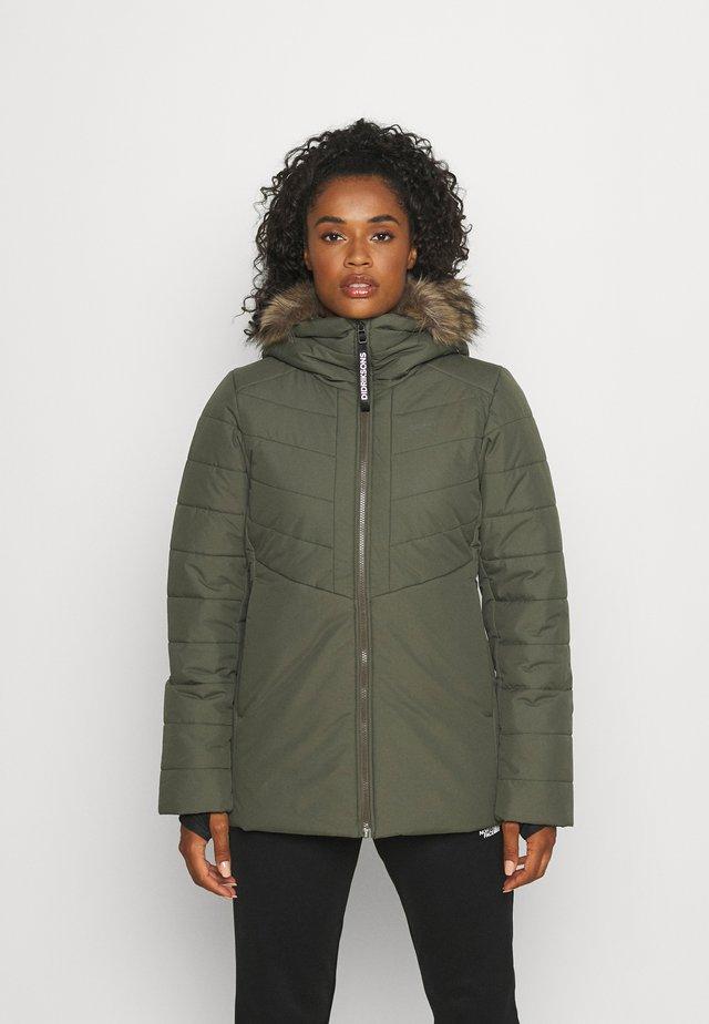 Winter jacket - fog green