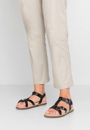 MEENWICH - Sandals - noir