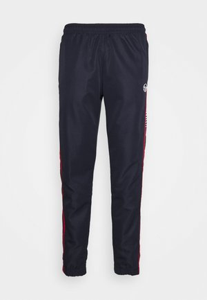 ALABAMA PANTS - Tracksuit bottoms - night sky/tango red
