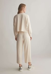 OYSHO - Trousers - white - 2