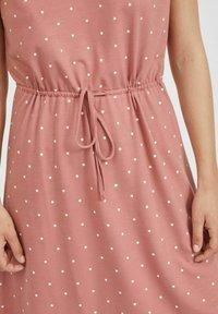Vila - VIMOONEY STRING - Jersey dress - old rose - 4