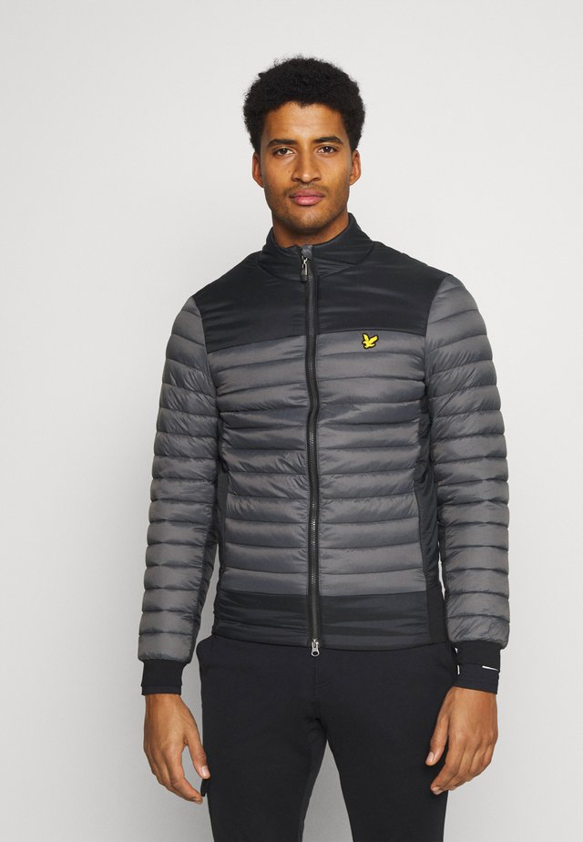 BACK STRETCH QUILTED JACKET - Winter jacket - rock grey