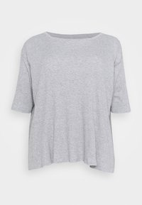 Simply Be - HANKY - Long sleeved top - grey marl - 0