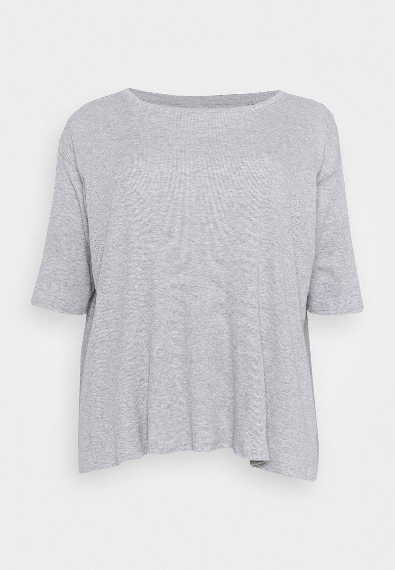 Simply Be - HANKY - Long sleeved top - grey marl