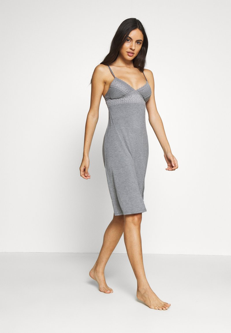 Marks & Spencer London - CHEMISE SOFT CUP - Nightie - charcoal