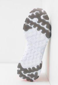 Nike Sportswear - REACT VISION - Zapatillas - pale ivory/black/volt/laser crimson - 6