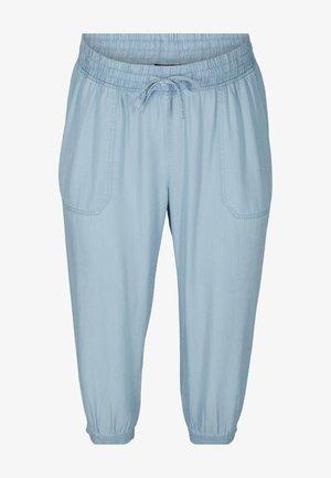 Trousers - light blue denim