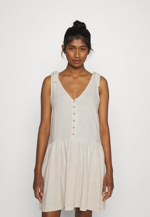 YASVIRO DRESS - Day dress - eggnog/melange