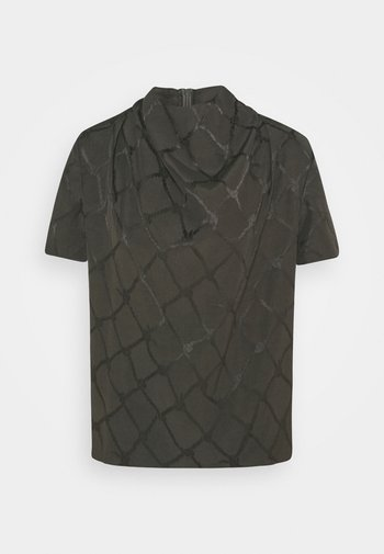 VOLONA - Print T-shirt - olive