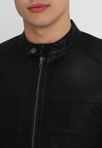 Only & Sons - ONSSACHO - Faux leather jacket - black - 5