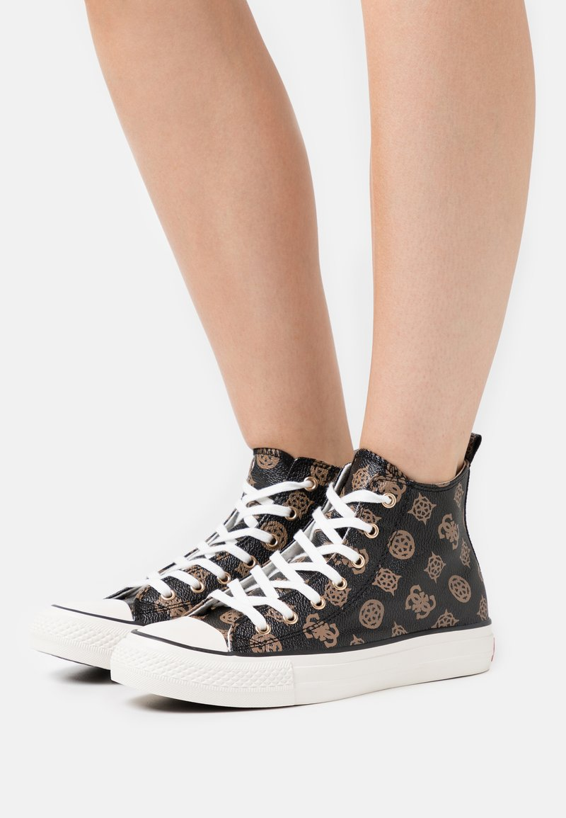 Guess - Sneakers alte - brown/ocra