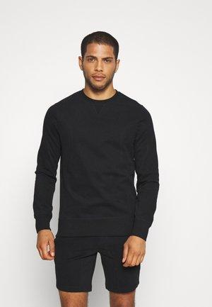 LEBLON LOUNGEWEAR - Pyjamasöverdel - black