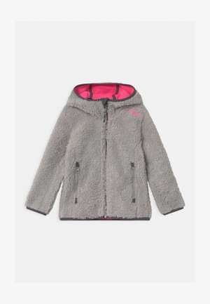 GIRL FIX HOOD - Fleece jacket - gesso