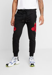 Brave Soul - AVIOR - Pantalones deportivos - black - 0