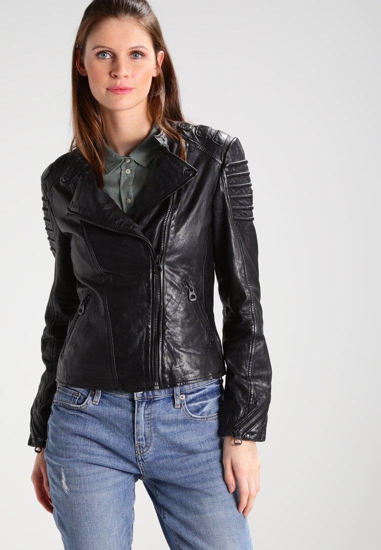 Gipsy - Veste en cuir - black