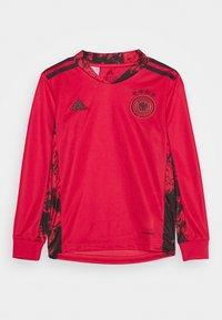 adidas Performance - DFB DEUTSCHLAND GK JSY Y - Club wear - glory red - 0