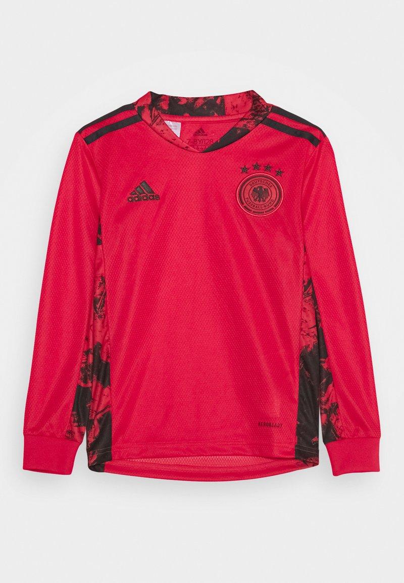 adidas Performance - DFB DEUTSCHLAND GK JSY Y - Club wear - glory red