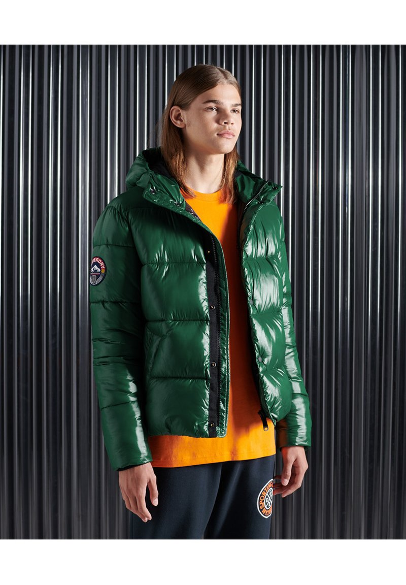 Superdry - Giacca invernale - mid pine