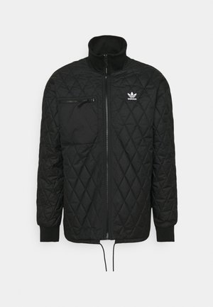QUILTED - Light jacket - black