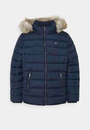 ESSENTIAL HOODED JACKET - Winter jacket - twilight navy