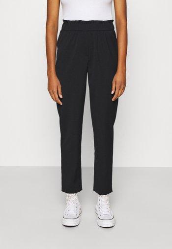 ONLNORAH FRILL PANT - Trousers - black