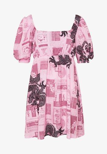 FANTASY MINI SMOCK DRESS