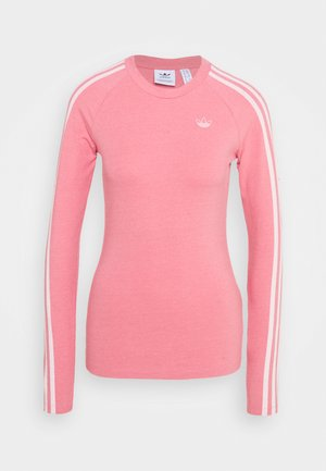 LONG SLEEVE TEE - Long sleeved top - hazy rose/white
