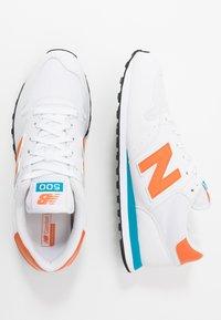 New Balance - 500 - Sneakers - white/orange/blue - 1
