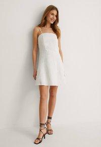 NA-KD - Cocktail dress / Party dress - white - 1