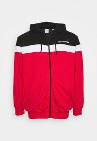 Jack & Jones - JJSHAKE - Zip-up hoodie - true red - 0