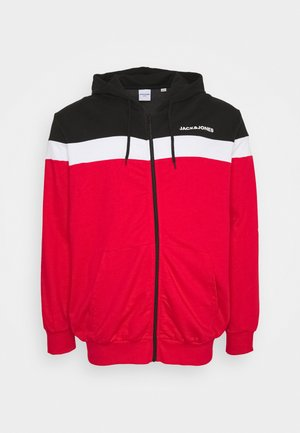 JJSHAKE - Zip-up hoodie - true red