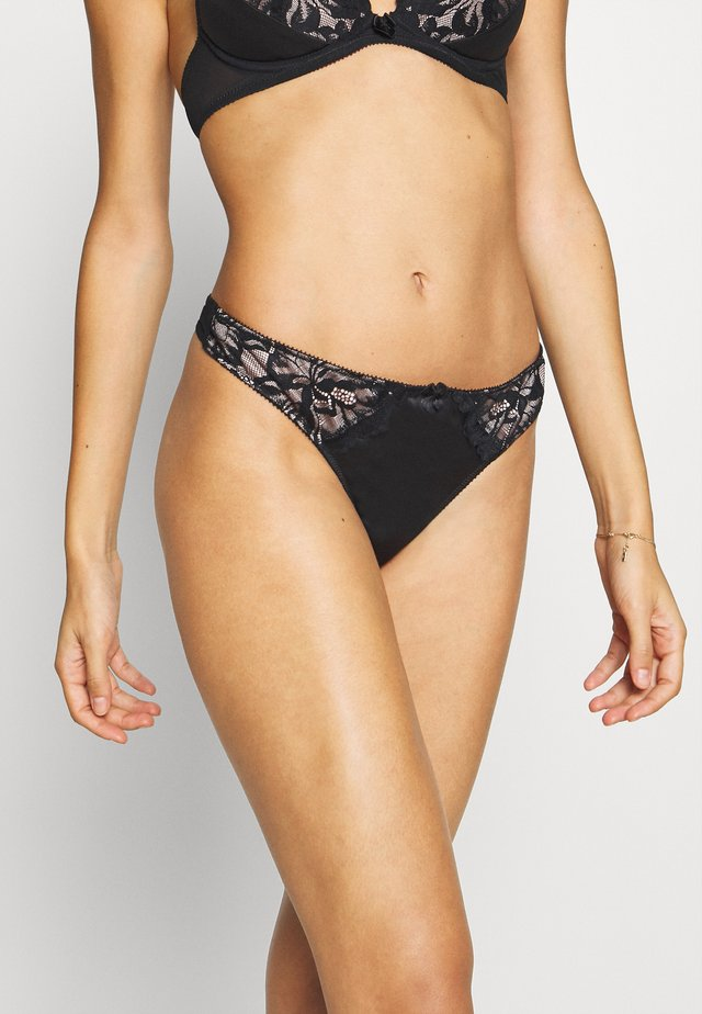 PARIS NIGHT THONG - Stringi - black/nude