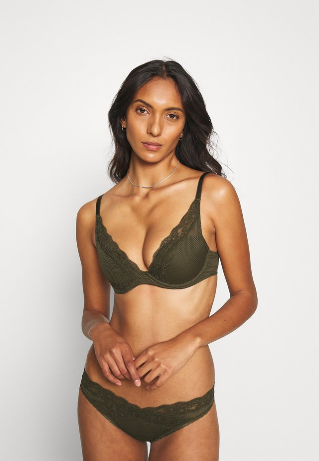 BROOKLYN - Underwired bra - khaki