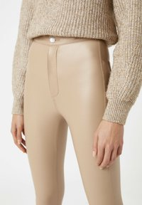 PULL&BEAR - Leggings - Trousers - beige - 3