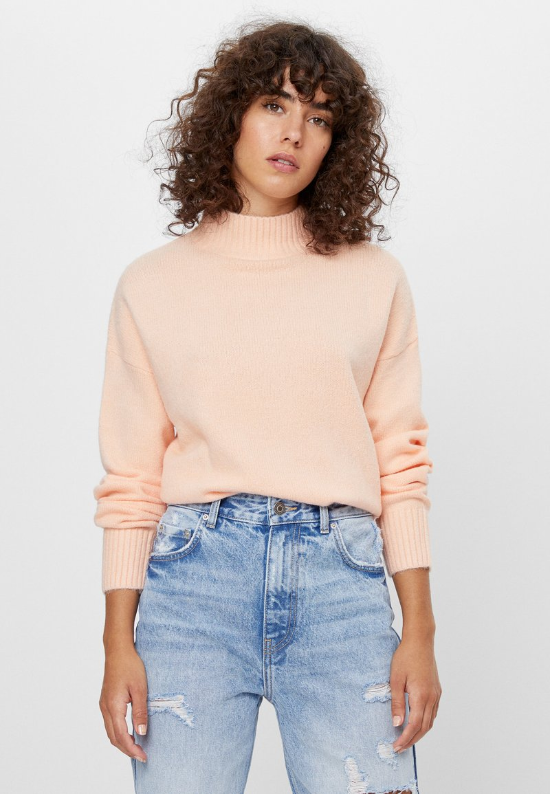 Bershka - Pullover - pink
