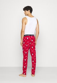 Jack & Jones - JACX MAX LOUNGE PANT - Pyjama bottoms - chili pepper - 2