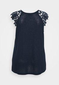 Zizzi - Print T-shirt - navy blazer - 1