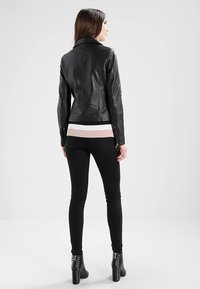 Samsøe Samsøe - Leather jacket - black - 3