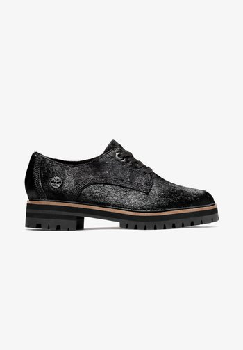 LONDON SQUARE OXFORD - Casual lace-ups - black leather
