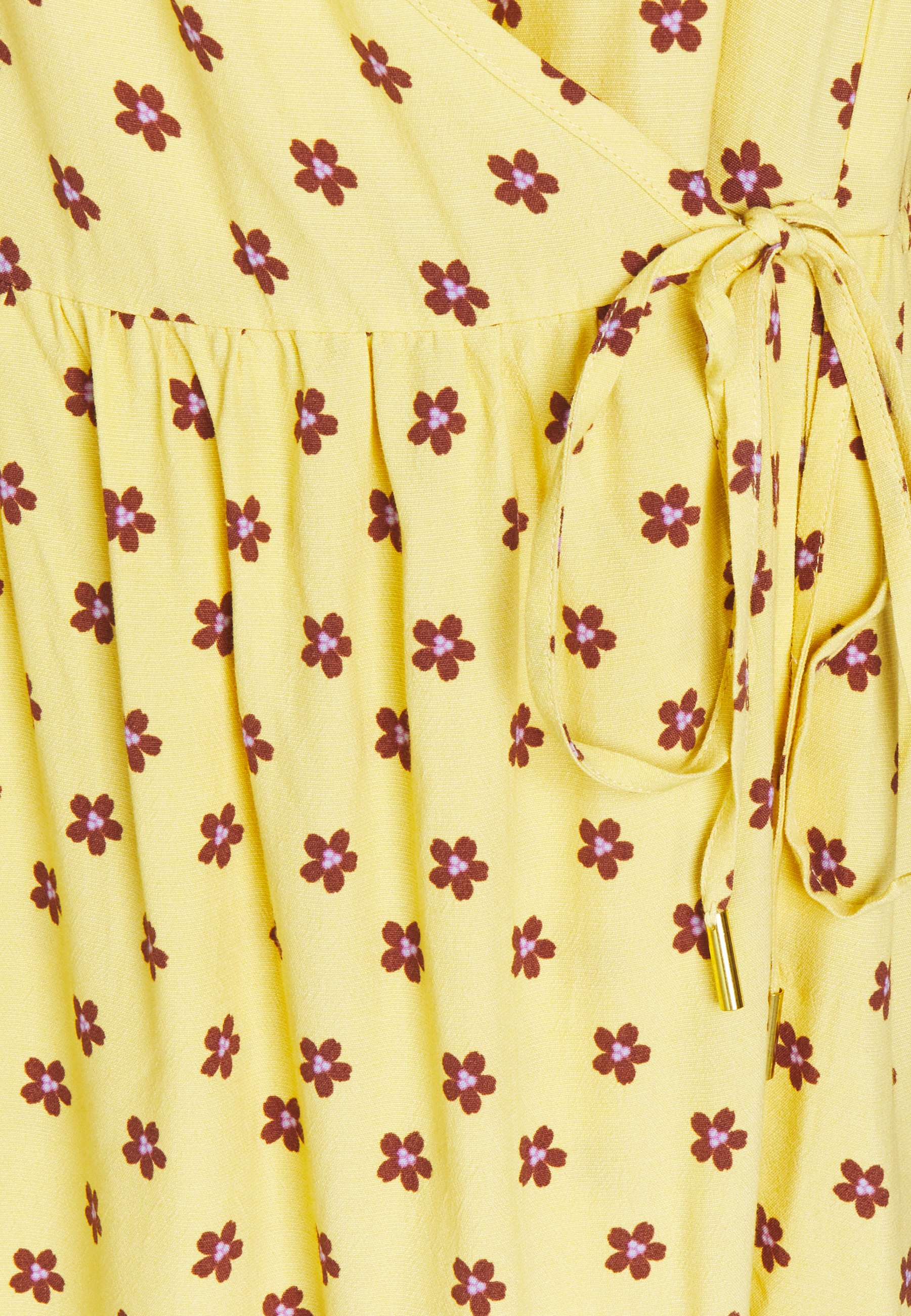 Noa Noa LINEAR  Freizeitkleid print yellow/gelb