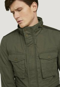 TOM TAILOR - Light jacket - olive night green - 3