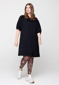 Zizzi - Day dress - black - 1