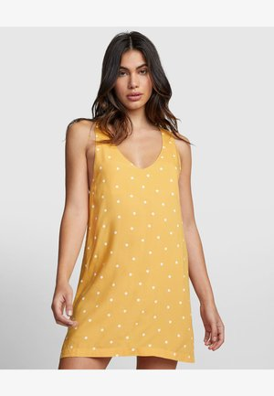 Korte jurk - amber