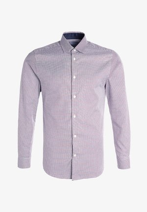 SLHSLIMNEW MARK - Camisa elegante - bright white/red/navy/white