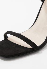 Nly by Nelly - SQUARE  - Sandaler med høye hæler - black - 2