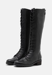Gabor - Šněrovací vysoké boty - schwarz - 2