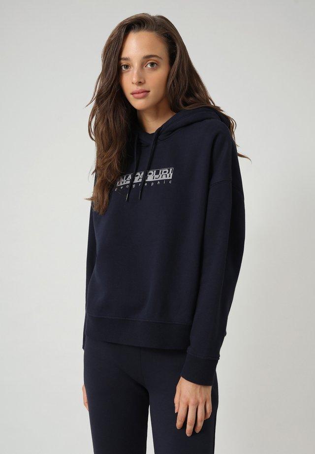 BEBEL  - Bluza z kapturem - blu marine