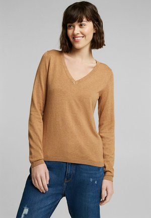 SWEATER  - Pullover - caramel